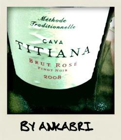 Cava Titiana Pinot Noir Brut Rosé