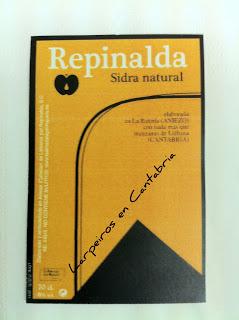 Sidra Repinalda 100% de Cantabria