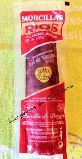 Morcilla de Burgos Rios con manzana, cebolla caramelizada y puré de patatas