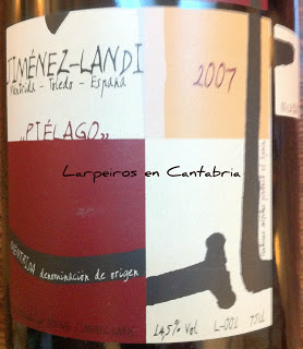 "Tinto Jimenez Landi ""Piélago"" 2007 Binodinámico en Méntrida"