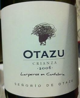 Tinto Otazu Crianza 2006
