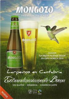 Cerveza Mongozo Premium Pilsener Sin Gluten