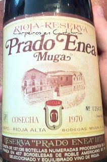 Tinto Prado Enea de Muga 1970 y aún estaba vivo