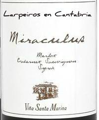 Tinto Miraculus 06 Vino de autor de Extremadura