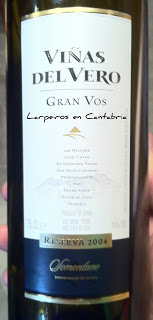 Tinto Viñas del Vero Gran Vos del 04, Desilusión