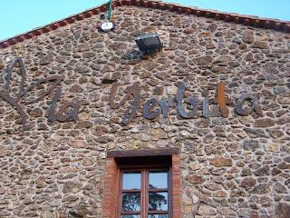 Restaurante La Yerbita (Sobarzo) Visita en Mayo del 2007