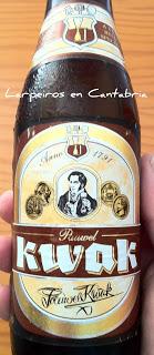 Cerveza Kwak gran cuerpo y sabor