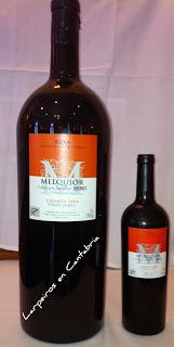 Tinto Melquior Crianza 2004 en Botella Matusalem