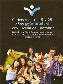Coro Juvenil de Cantabria, ya en marcha