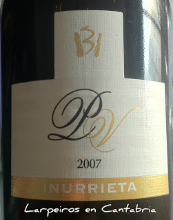 Tinto PV de Inurrieta 2007, Buena Petit Verdot por Navarra