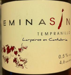 Tinto Eminasin, pues eso, Sin Alcohol