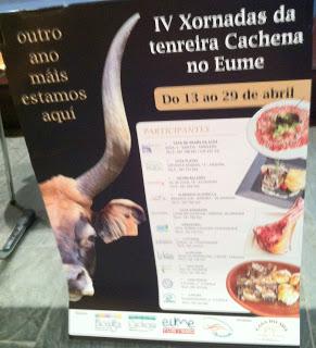 IV Jornadas de la Ternera Cachena en Eume, A Coruña