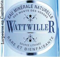 Agua Wattwiller; de Francia, elegante