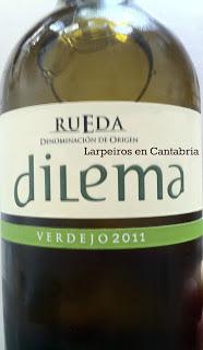 Vino Blanco Dilema 2011: Verdejo en la Feria de Día de Santander 2012