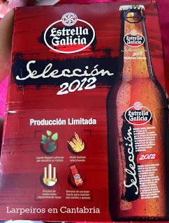 Cerveza Estrella Galicia Selección 2012, la mejor estrella