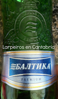 Cervezas Baltika, made in Rusia