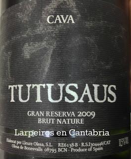 Cava Tutusaus Gran Reserva 2009 B.N., ¡Qué recuerdos!