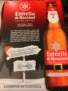 Cerveza Estrella Galicia Navidad 2012, un año más aquí está