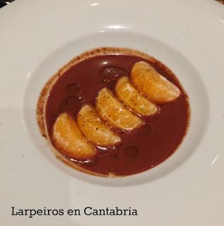 Chocolate con Mandarina Sin Lactosa Gracias a O Camiño do Inglés