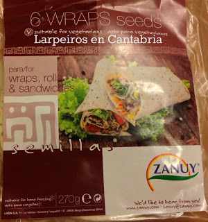 Wraps de Semillas con Pollo