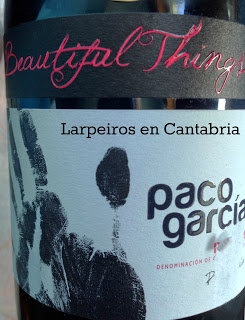 Vinos Tintos de Paco García [3]: Beautiful Things 2008; no se si será bonito, pero sí se que está bien bueno