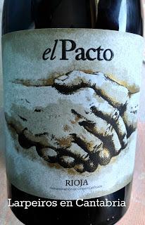 Vino Tinto El Pacto 2009: Curioso en verdad.