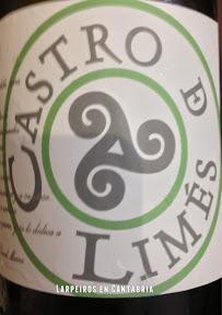 Vino Blanco Castro de Limés Orocantábrico: A pesar de David, es bastante bebible