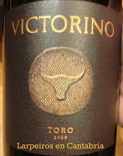 Vino Tinto Victorino 2009: Una botella se hace poco