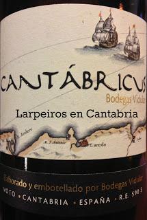 Vino Blanco Cantábricus 2012: Alegre, desenfadado