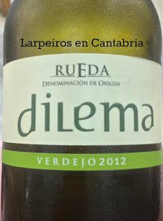 Vino Blanco Dilema 2012: Blanco en la Feria de Día Santander 2013
