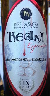Vino Tinto Regina Expresión 2009: Los Triscattos Degustando