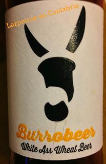 Cerveza Burrobeer White Ass: Asno blano, trigo blanco