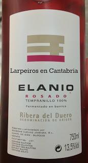 Rosado Elanio 2012: Muy escaso