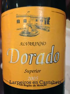 Blanco Dorado 2005: Estos son nuestros vinos