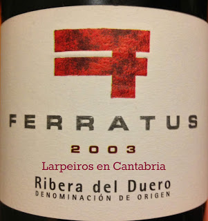 Vino Tinto Ferratus 2003: Grandes Recuerdos