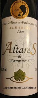 Blanco Altares de Postmarcos 2010: A tener muy en cuenta
