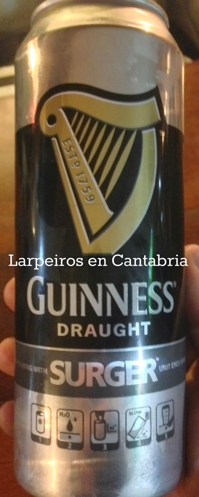 Cerveza Guinnes Surger: Esto no es lo que era