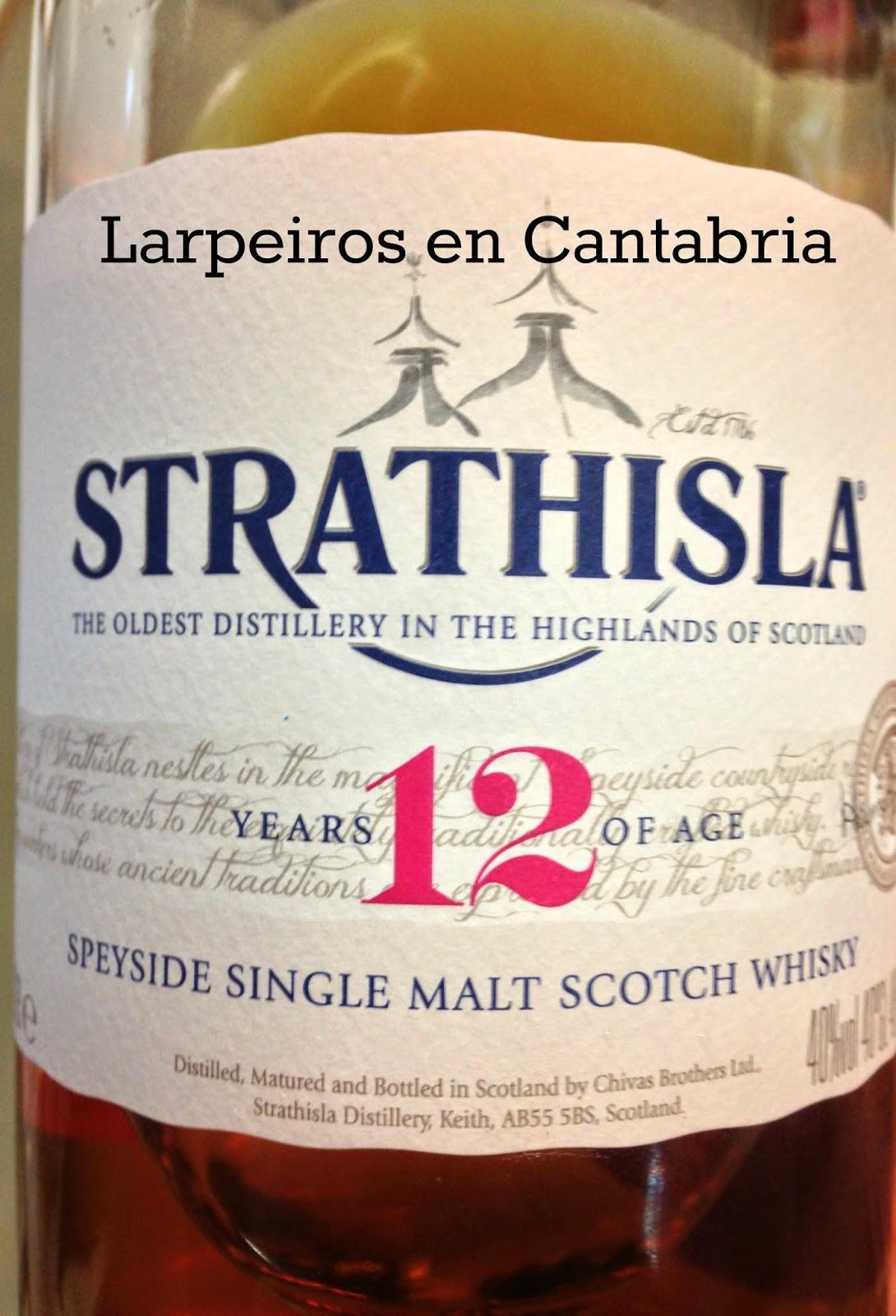 Whisky Strathisla 12: El corazón de Chivas.