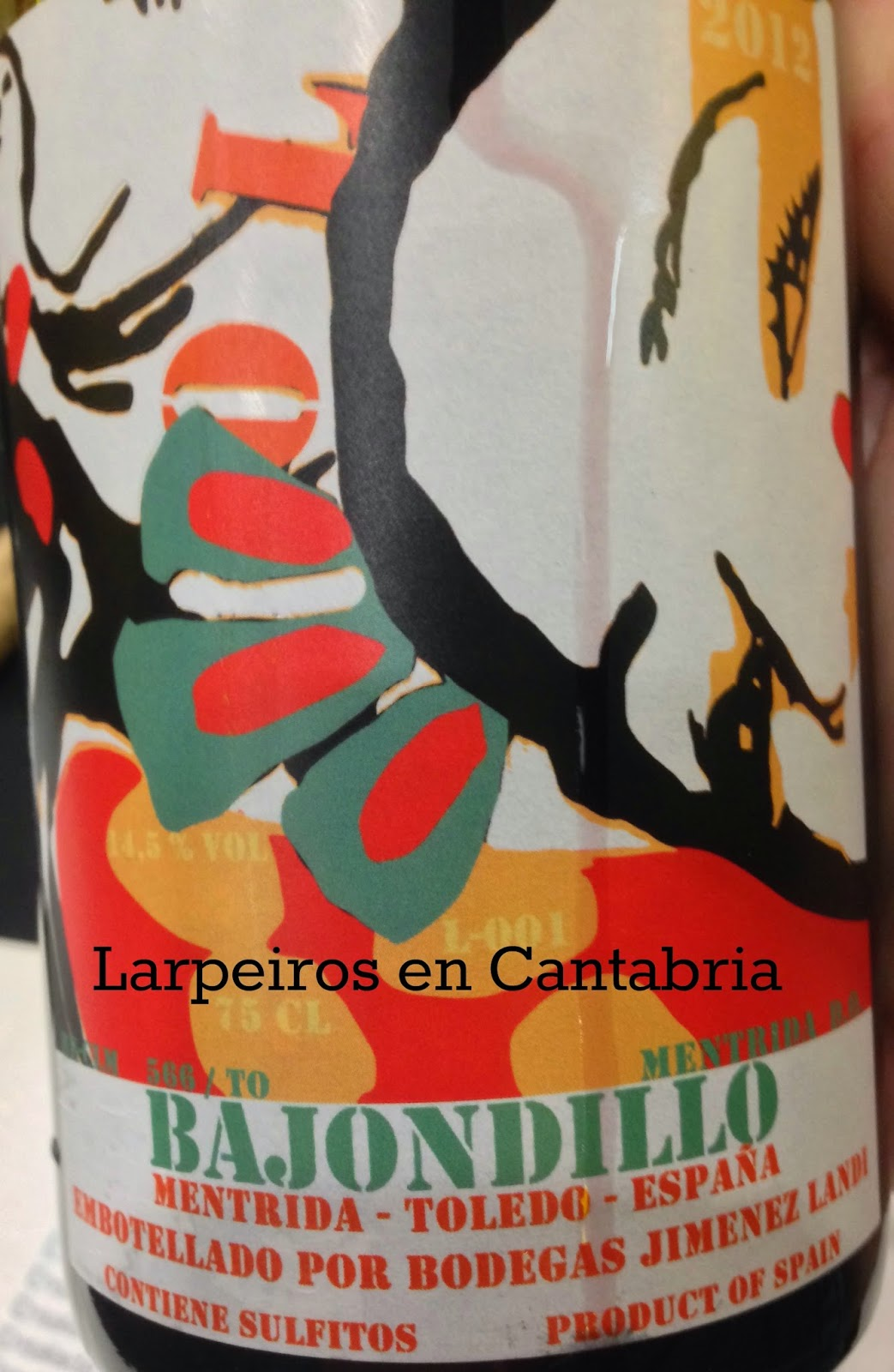 Vino Tinto Bajondillo 2012: Recordando a Daniel