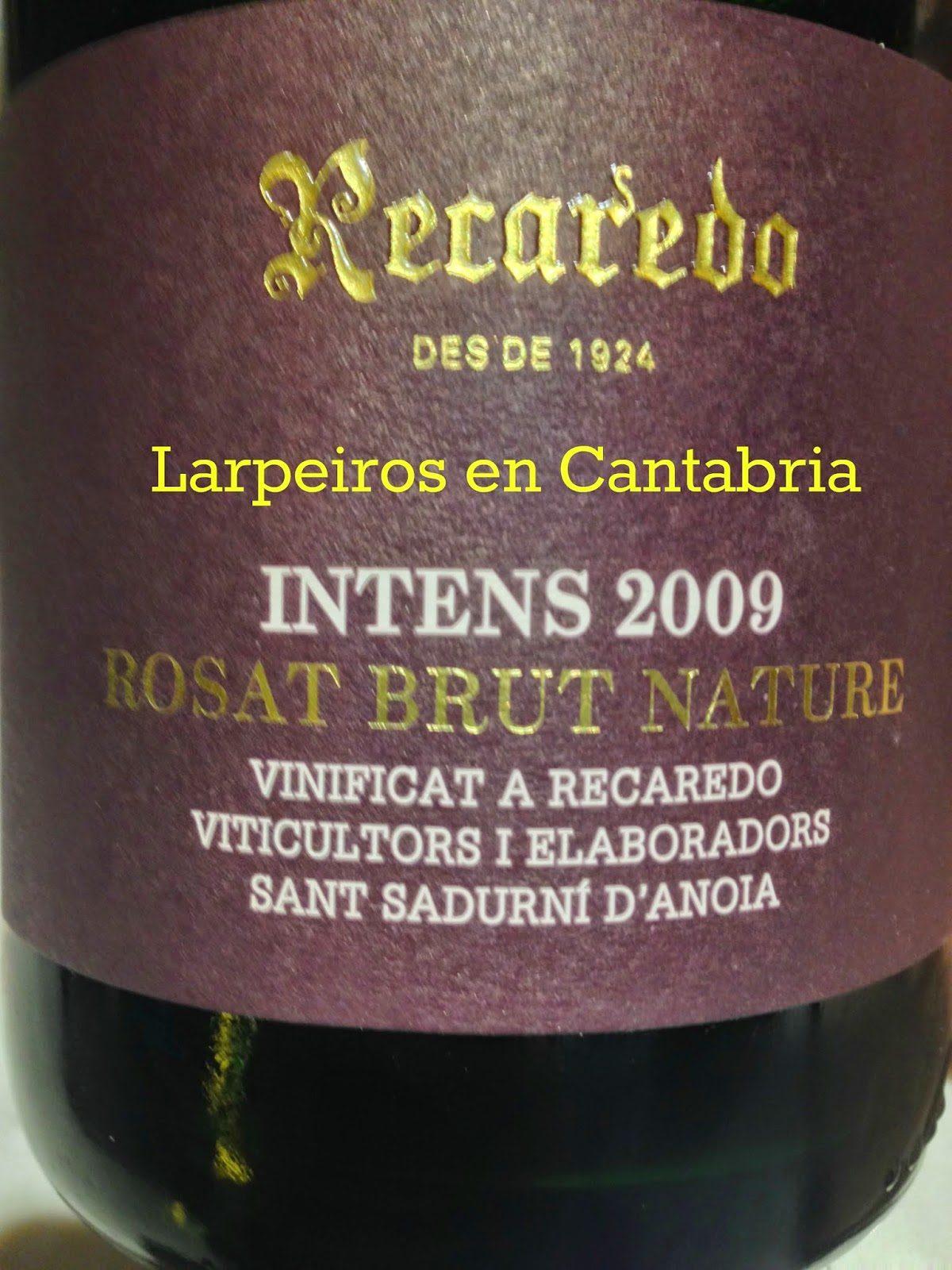Cava Rosé Recaredo Intens 2009: Sorpresa agradable