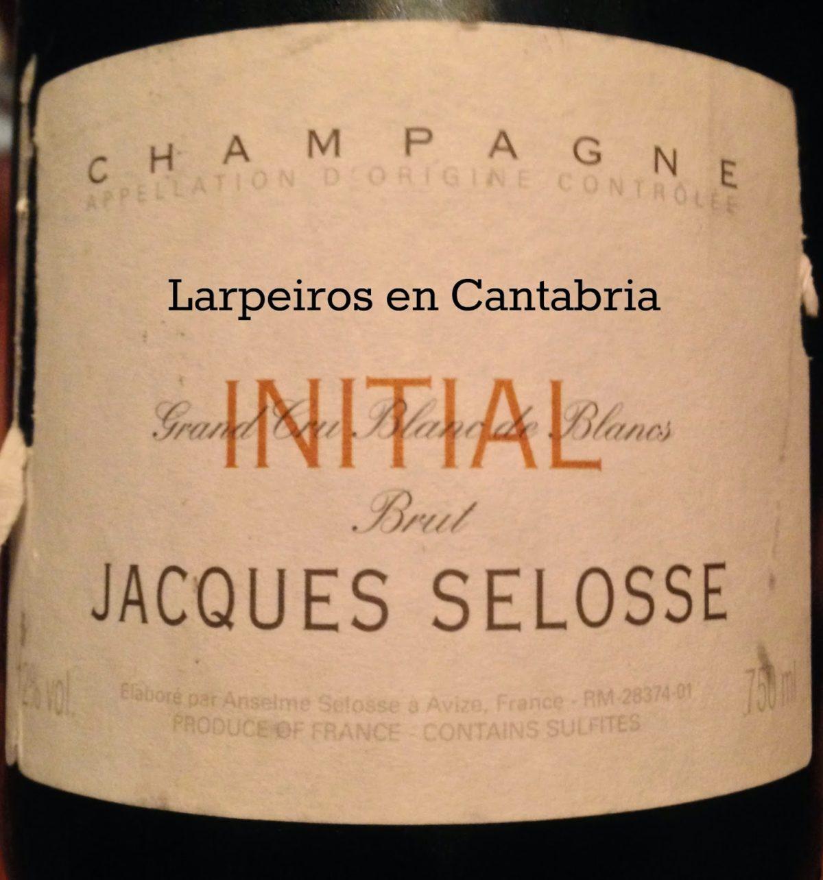 Champagne Jacques Selosse Brut Initial: Degüelle 2 Diciembre 2011