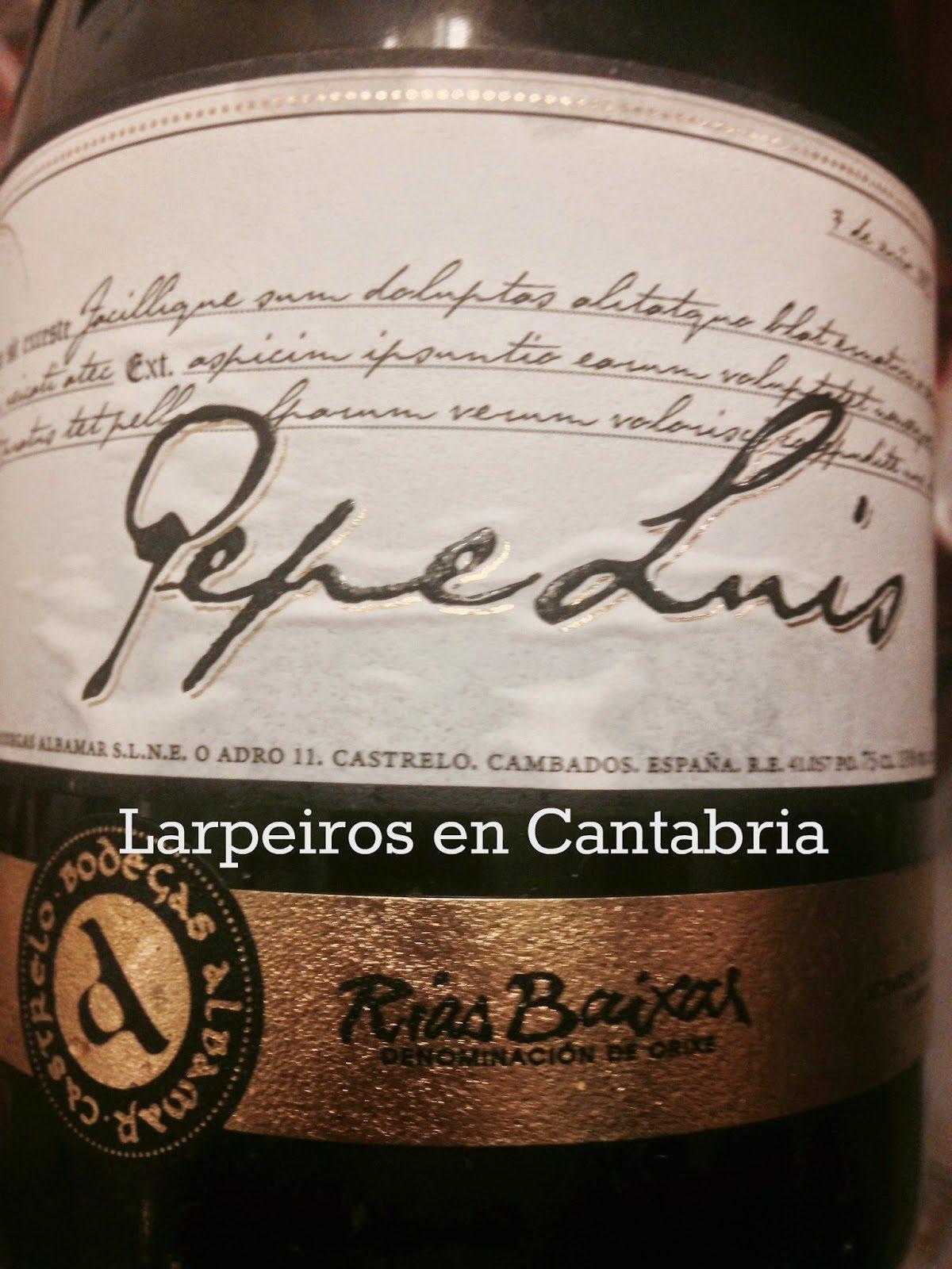 Vino Blanco Albamar Pepe Luis 2012: Serio y seguimos con los orgasmos