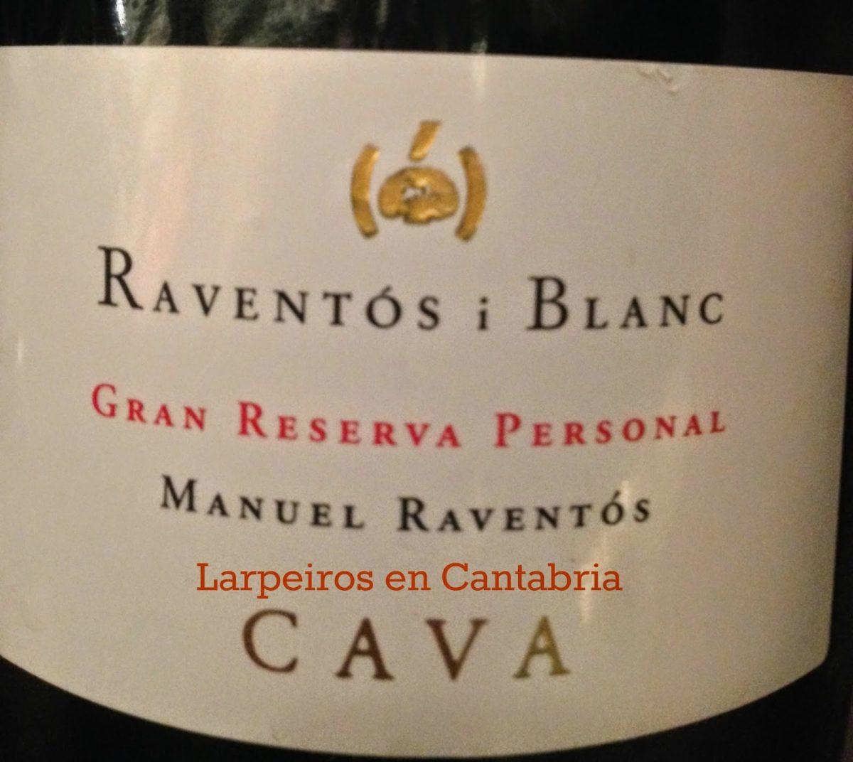 Raventós i Blanc Enoteca 1999 Gran Reserva Personal Manuel Raventós: Esto si que es un vinazo
