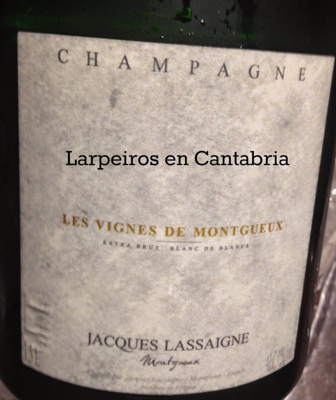 Champagne Jacques Lassaigne Vignes de Montgueux Extra Brut Blanc de Blancs