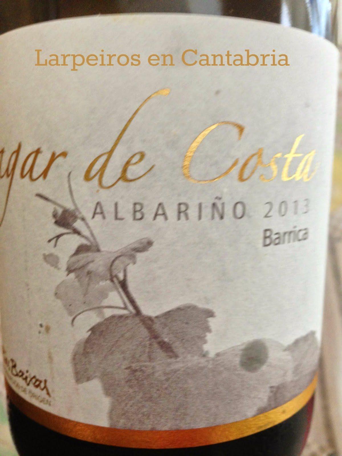Vino Blanco Lagar de Costa Barrica 2013: Espectacular