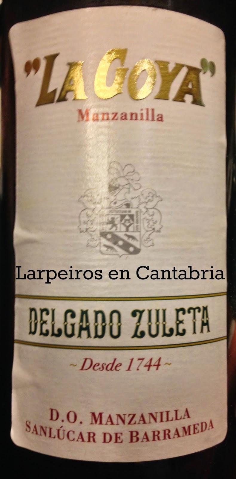 Manzanilla La Goya de Delgado Zuleta; Recuerdos de O Camiño