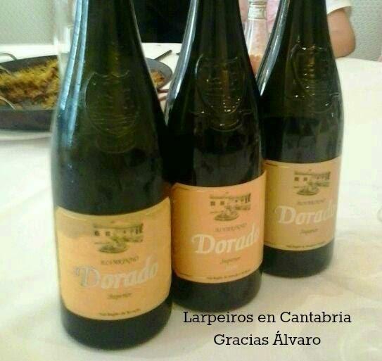 Vino Blanco Dorado Superior 2005,2009 y 2011, Minivertical: Esto fue el principio de un gran abrazo