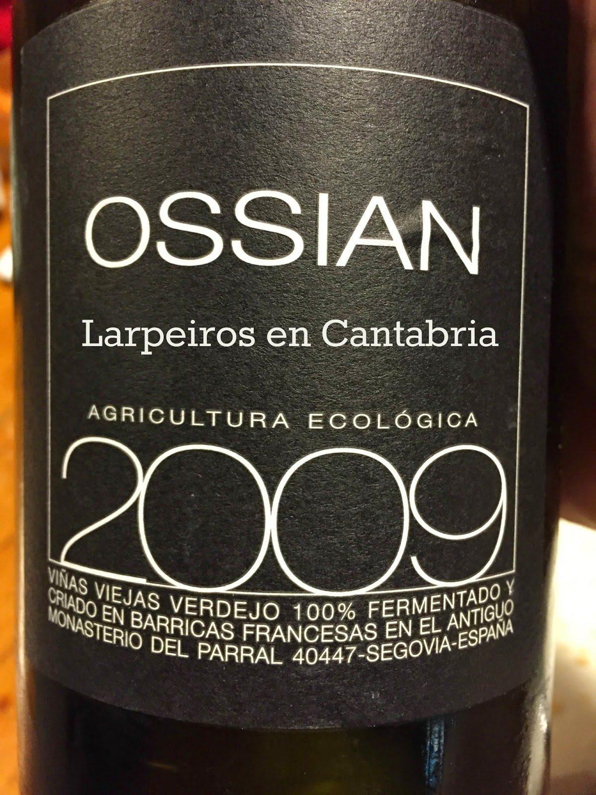 Vino Blanco Ossian 2009: Nos sigue enamorando