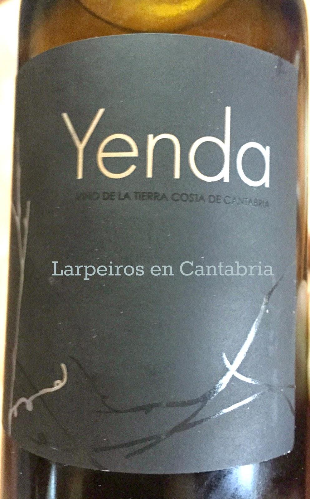 Vino Blanco Yenda 2011: Su primera añada