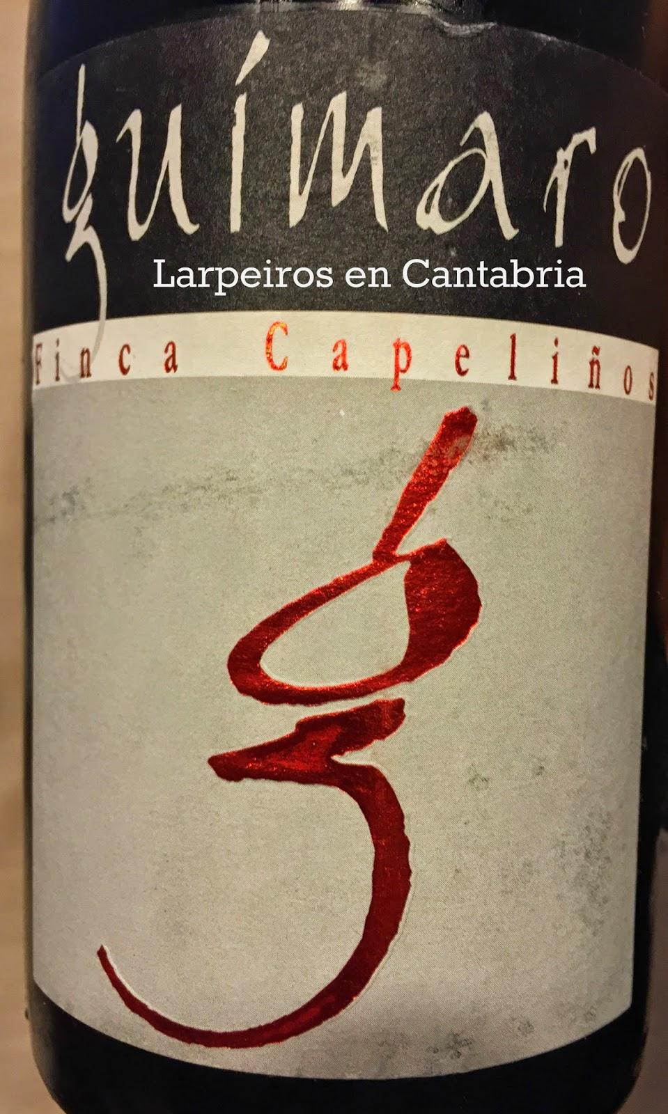 Vino Tinto Guímaro Finca Capeliños 2011: Sabe, huele, respira a Galicia